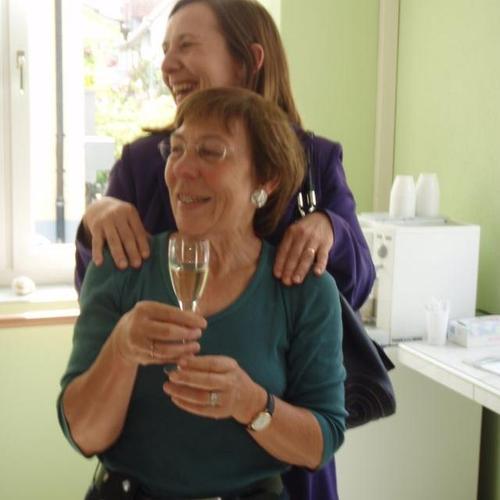 Meine Schwester mit Frau Pfeiffer