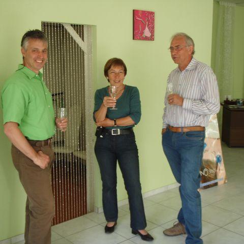 Herr und Frau Pfeiffer mit meinem Mann Markus
