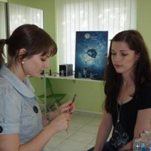 Simona Böni bei der Arbeit